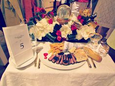 Diner en Blanc + Party & Table Decor Inspiration