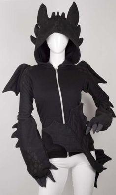 Dragon Themed Item-Hooded Jacket