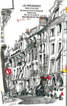 Paris 14 Ago. by  INMA SERRANO