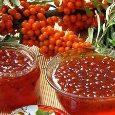 Sea buckthorn jam with walnuts Indian Food Recipes, Vegan Recipes, Cooking Recipes, Ethnic Recipes, Good Food, Yummy Food, Tasty, Most Delicious Recipe, Food Pictures