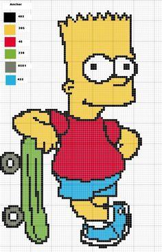 Cross Stitching, Cross Stitch Embroidery, Cross Stitch Patterns, C2c Crochet, Tapestry Crochet, Hama Beads Disney, Pixel Art Grid, Graph Paper Art, Pixel Art Templates