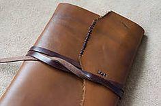 Papiernictvo - Kožený zápisník Harry A5 - 5238141_