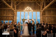 Kerri & Tony's love is one for the ages and their Brandywine Manor wedding in Chester County Pennsylvania was so much fun it felt like it would never end! House Property, Twinkle Lights, Photo Credit, Wedding Ceremony, Barn, Loft, Photography, Beautiful, Hochzeit