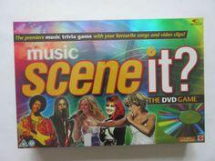 £19.99 Music Edition DVD SCENE IT TRIVIA BOARD GAME NEW