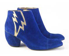BLUE BOWIE - Louloux - Sapatos Colecionáveis