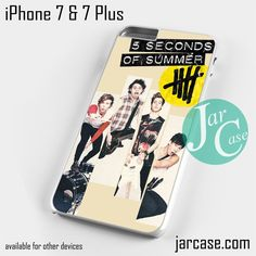 5seconds of summer music band Phone case for iPhone 7 and 7 Plus