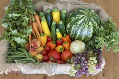 We're committed to offering a wide variety of organic fruits and vegetables which provide the freshest taste, greatest nourishment at the highest value. Organic Fruits And Vegetables, Go Green, Farmer, Watermelon, Fresh, Food, Essen, Farmers, Meals