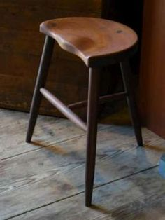 Have custom bar stools built for you by a local artisan from Custom Made. Wooden Furniture, Furniture Projects, Home Furniture, Furniture Design, Bench Stool, Wood Stool, Custom Bar Stools, Diy Sofa, Wood Bars