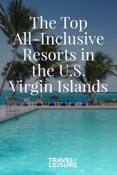 Top All-Inclusive Resorts in the U. Virgin Islands Craving a spur-of-the-moment weekend trip? You don't need a passport to head to the U. Virgin Islands, making it an easy option for last-minute vacations. Virgin Islands All Inclusive, Top All Inclusive Resorts, Virgin Islands Vacation, St Thomas All Inclusive, Beach Vacation Tips, Best Island Vacation, Travel Destinations Beach, Best Carribean Vacation, Vacation Ideas