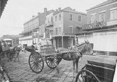 Milk cart, ca. 1900