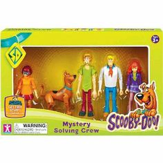 Any Scooby-Doo fans out there? This set of movable Scooby-Doo characters might be a great gift idea.