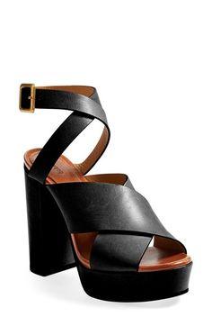 Chloé Ankle Strap Platform Sandal (Women) available at #Nordstrom