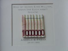 Sie erwerben einen Rahmen in weiß mit individualisierbarem Bild. Das ideale Gel… You buy a frame in white with customizable image. The ideal money gift to give away. Please let us know your name and the date to be entered. Wedding Car, Diy Wedding, Wedding Favors, Wedding Gifts, Don D'argent, Wedding Present Ideas, Present Gift, Diy Gifts, Diy And Crafts