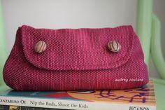 tapestri fabric, curvi clutch