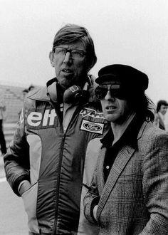 Ken Tyrrell & Jackie Stewart.