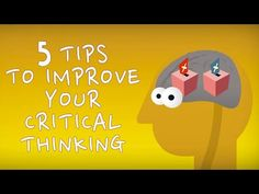 "New TED-Ed Video & Lesson: ""5 tips to improve your critical thinking"" 