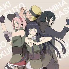 Naruto y Hinata | Sakura y Sasuke