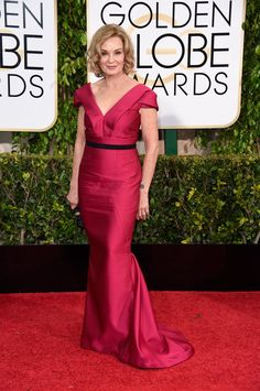 Pin for Later: Check Out All the Stars on the Golden Globes Red Carpet! Jessica Lange