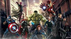 #Avengers #Fan #Art. (Avengers Age Of Ultron) By: D-CDesigns. (THE * 5 * STÅR * ÅWARD * OF: * AW YEAH, IT'S MAJOR ÅWESOMENESS!!!™) ÅÅÅ+
