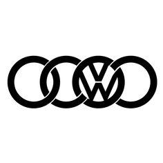 Car Decals, Bumper Stickers, Vinyl Decals, Window Stickers, Auto Volkswagen, Vw T1, Hei Hei Moana, Vw Tattoo, Allroad Audi