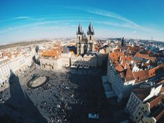 Prague's Old City Hall View! #view #prague