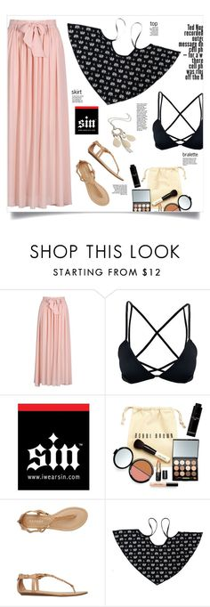 """""""Shop - iwearsin.com"""" by yexyka ❤ liked on Polyvore featuring Bobbi Brown Cosmetics, Report, maurices and iWearSin"""