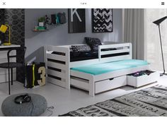 The Modern Style Captain Bed Including Guest Bed Is A Well
