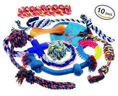 Pet Dogs Lobeve Toys 10 Pack Gift Set Variety Set Medium to Small Doggie #Lobeve