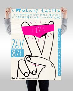 POSTERS by Agata Dudek, via Behance