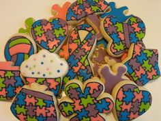 Autism cookie collection