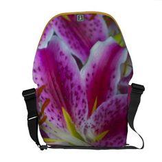 Stargazer Lilies Courier Bag