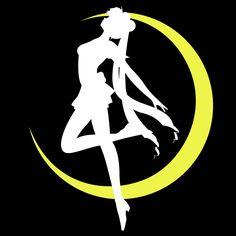 Classic Sailor Moon Silhouette