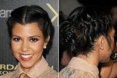 black braided hairstyle - Pesquisa Google