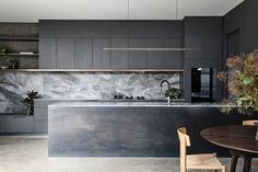 Taking Shelter – The Blockhouse by Ha Architects – Project Feature – The Local Project Australian Architecture, Interior Architecture, Modern Kitchen Design, Interior Design Kitchen, Block House, Passive Design, Paris Apartments, Beautiful Kitchens, Cladding