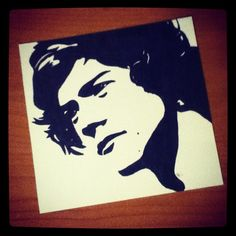 Harry Styles Pop Art. $5.00, via Etsy.