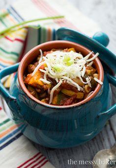 45-Minute Harvest Chili Bowls Recipe #WeekdaySupper