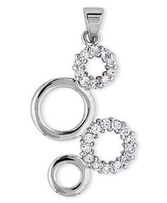 925 Sterling Silver Pendant Polished Finish Bubble Circle Cubic Zirconia Pave Setting - Incl. ClassicDiamondHouse Free Gift Box & Cleaning Cloth ClassicDiamondHouse. $32.36. Jewelry that make a statement day or night. Fabulous CZ Diamonds.. Always look presentable and stunning! Get countless appreciation in our CZ Diamond jewelries. Enjoy Shopping!. Your jewelry will be enclosed by jewelry box and placed in our beautiful jewelry care cloth. Wow!Packed in a Beautiful Engra...