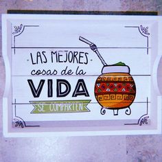 Love Mate, Yerba Mate, Ideas Para, Stencils, Lettering, Crafty, Scrapbook, Projects, Handmade