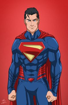 Superman (Earth-27) commission by phil-cho.deviantart.com on @DeviantArt