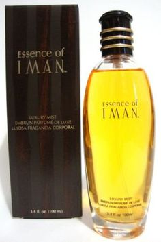 ESSENCE OF IMAN ORIGINAL LUXURY MIST PERFUME SPRAY 3.4 OZ [Discontinued Product]. Fragrance, Perfume.