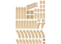 BRIO 33772 skenset - 50 delar