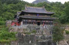 Five Dragon Palace temple Wudang China