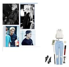 In Those Jeans - Jackson by eni-body on Polyvore featuring polyvore H&M Topshop American Eagle Outfitters Wet Seal NIKE Monsoon ZeroUV Forever 21 Hershesons Smashbox Bobbi Brown Cosmetics fashion style clothing