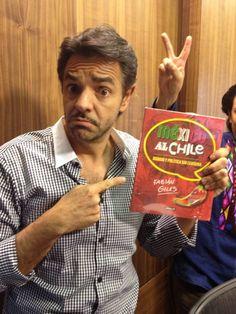 Y @EugenioDerbez dice que NO se aceptan devoluciones con #MexicoAlChile