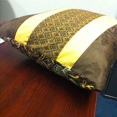 A pillow to match my quilt