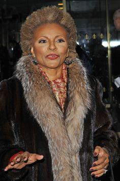 Leslie Uggams   Leslie Uggams, best known for her role on 'Roots', bundles up in a fur ...