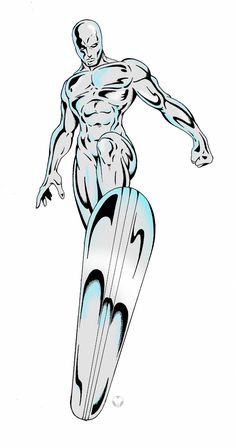 Silver Surfer by MikeMahle.deviantart.com on @deviantART
