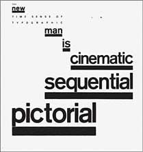 """Willi Kunz  1975 (Postmodernism, New Wave Typography) page from """"12 T y p o graphical Interpretations"""""""