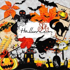 Friendly Scrap: Freebie Halloween Kit