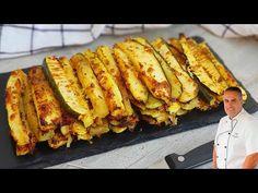 (1662) ¡QUE DELICIA! ¡Con solo un calabacín y un poco de imaginacion! - YouTube Hot Dog Buns, Hot Dogs, Zucchini, French Toast, Bread, Vegetables, Breakfast, Food, Youtube